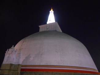 The Stupa at Night